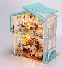 homemade dollhouse furniture. new design doll play house modern diy dollhouse with homemade furniture best gift for christmas and