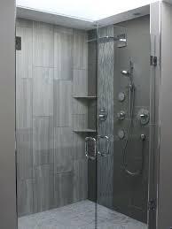 tiled shower walls gray shower tile 6 non tile shower wall ideas