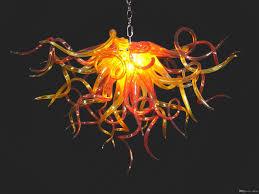 longree fancy murano glass chandelier red golden light fixtures party decoration modern art flower glass chandelier modern ceiling lamps pendant light