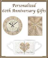 60th anniversary gifts for couples