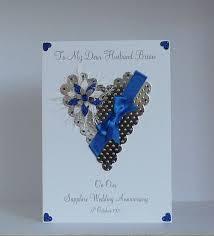 45th wedding anniversary card 45th wedding anniversary gift ideas for husband choice image