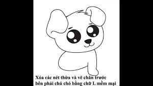 Cách vẽ con chó đơn giản và dễ thương nhất - YouTube