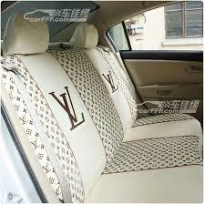 louis vuitton lv classic car seat cover