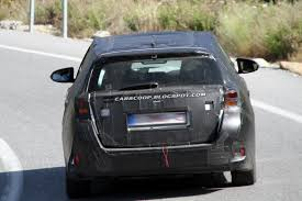 Scoop: New Toyota Auris Station Wagon Spotted Testing in Europe ...