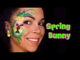 Small Picture Spring Bunny Face Painting Tutorial YouTube