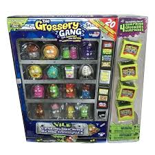 Grossery Gang Vending Machine Best The Grossery Gang Season 48 Vile Vending Machine Pack Paralott