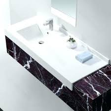 shocking bathroom sink countertop one piece picture concept