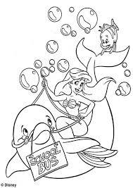 Disegni Della Sirenetta Ariel Da Stampare E Colorare Ariel