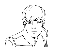 Small Picture coloring pages to print Justin Bieber Coloring Pages Coloring