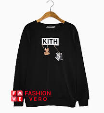Kith Hoodie Size Chart Kith X Tom And Jerry Swing Sweatshirt