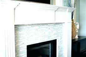 architecture glass tile fireplace surround incredible mosaic tiled pin it on view full throughout 10