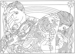 Tattoos are often very pretty, but not everyone wants a permanent tattoo on their skin. Cool Coloring Pages Coloring Rocks