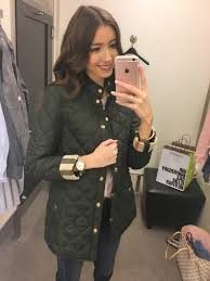 Nordstrom Anniversary Sale 2017 Try On - Lace & Lashes Blog & Burberry Quilted Jacket Adamdwight.com