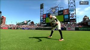 gr8ful hunter pence brings positivity emotion in final game with giants nbcs bay area