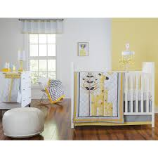 safari giraffe 4 piece infant bedding set