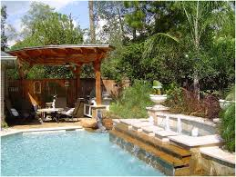 Backyard Pool Landscaping Backyards Terrific Landscape Designs For Backyard Landscape