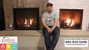 mendota burn gas fireplace central coast showroom