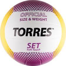 """<b>Мяч волейбольный TORRES Мяч волейбольный Torres</b> """"Set"""" цвет"""