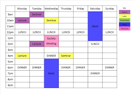 my study blog how to create a schedule i like to schedule mine during the evening because i can t study after about 8pm don t be stingy time but do leave enough room