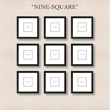 picture frames on wall simple. Nine Square: Don\u0027t Dismiss The Simple Grid. Picture Frames On Wall O