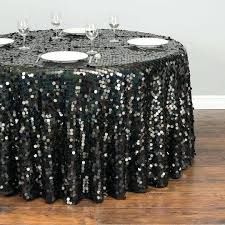 silver sequin tablecloth round in round sequin tablecloth iridescent black 120 round silver sequin tablecloth