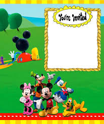 8 Free Mickey Mouse Invitations Templates Bring Out The