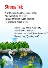 strange talk poem for cl 2 get