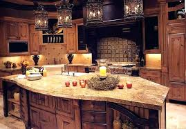 rustic lighting ideas kitchen island idea with vintage black iron chandelier diy r