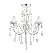 tabitha semi flush bathroom 3 light chandelier with crystal glass pertaining to incredible residence semi flush chandeliers designs