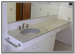 attractive vanity top with offset right bowl 49 inch vanity top with offset sink vanity furniture reference