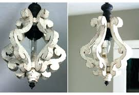farmhouse distressed antique white 5 light wood chandeliers chandelier orb chande