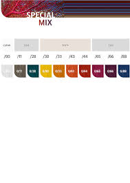 Koleston Color Chart Numbers Koleston Perfect Professional Hair Color Wella Professionals