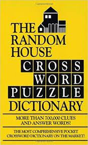 the random house webster s crossword puzzle dictionary stephen elliott 9780804113496 amazon books