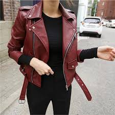 every day special korean style haining small leather coat women short coat 2017 spring clothing new
