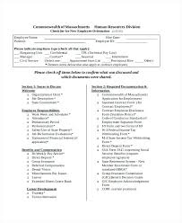 Sample Orientation Checklist For New Employee New Teacher Orientation Checklist Employee Template Safety