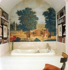 filela sorbonne hall ceiling. Fresco Painting Bathroom Traditional With Telephone Style Faucet Chrome Bathtub Caddies Filela Sorbonne Hall Ceiling