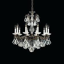 schonbek crystal chandelier la light rock chandeliers for