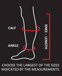 Size Guide Atn Compression Socks More