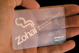 Translucent Plastic Business Cards Eloquent Touch Media Plastic Business Cards In Nigeria