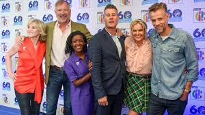 Meant that she was rarely off our screens. Richard Bacon Gets His Blue Peter Badge Back 20 Years After Cocaine Scandal