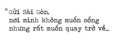 Image result for HẸN viớ SàiGòn một ngày không xa