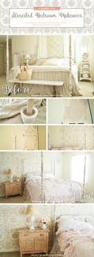 cutting edge stencils shares a diy stenciled accent wall in a shabby chic bedroom using the