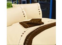 lone star embroidered texas sheets full size