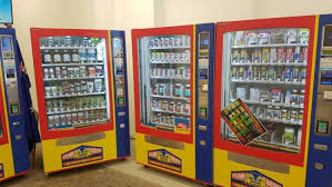 Grocery Store Vending Machine Fascinating Vitamin Vending Machines Is This The Future For Supplements