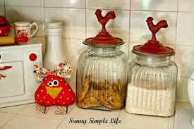 Sunflower Themed Kitchen Decor Sunny Simple Life Chickens In Kitchen Decor
