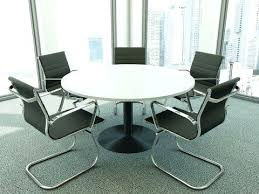 small white round office table tables ikea