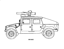 free military vehicle coloring pages