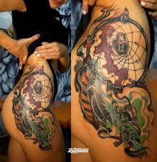 бедро татуировки в белгороде Rustattooru