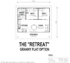 Granny Flat Floor Plans 1 Bedroom One Bedroom Tiny House Plans Tiny House  Single Floor Plans . Granny Flat Floor Plans 1 Bedroom ...