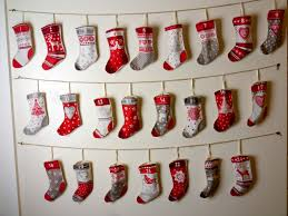 advent calander diy stocking advent calendar tutorial youtube